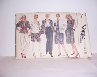 Vogue Patterns 8617 Sizes 14-16-18 Uncut Free U.S. Shipping