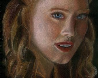 True Blood: Jessica Hamby portrait print