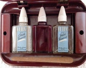 Vintage 1940s Cutex Nail Polish Manicure Kit with Celluloid Case