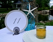 Table Number Holders, Party Place Settings, 10pcs