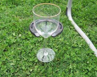 Horseshoe Wine Glass Holder