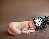 Pirate Baby Boy or Baby Girl Crochet Hat Photography Prop Ready Item