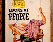 Mad's Dave Berg Looks At People, Vintage Satirical 1966 Paperback, Classic Humor, Mad Magazine, Cartoon Humor, Gift For Him, Christmas