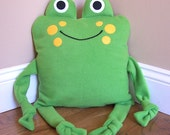 Frog Animal Pillow