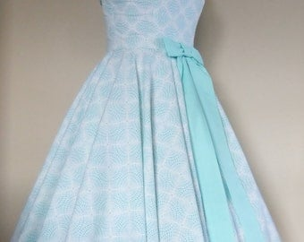 Sprinkles Swing Dress with Bow