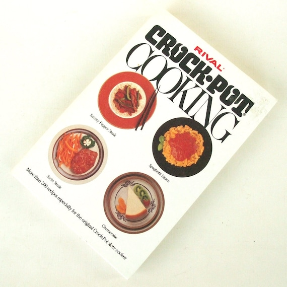 Items Similar To Rival Crockpot Cookbook W Bread N Cake