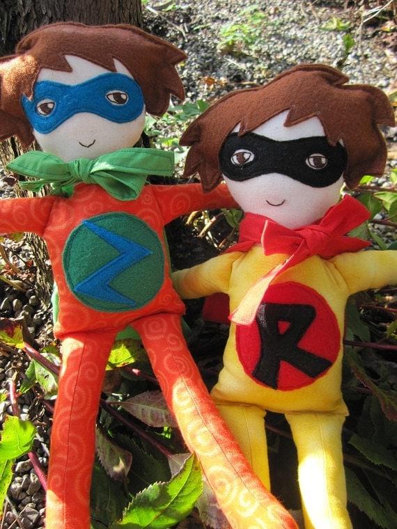 Superhero Doll - Boy or Girl - Custom Made