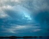 """Blue (color seascape 11 x 16"""")"""