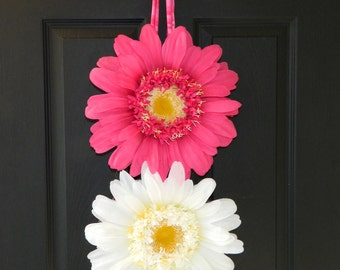 Spring Wreath - Outdoor Wreath - Flower Wreath - Flower Power