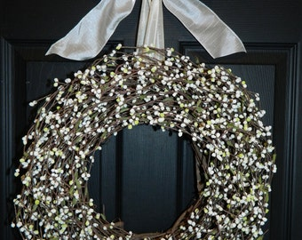 Spring Wreath - Everyday Wreath - All Season Wreath