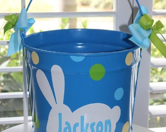 Easter Bucket Personalized 10 Quart