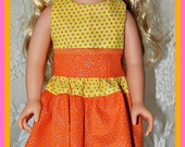 18 Inch Doll Clothing American Girl Doll - Top and Skirt