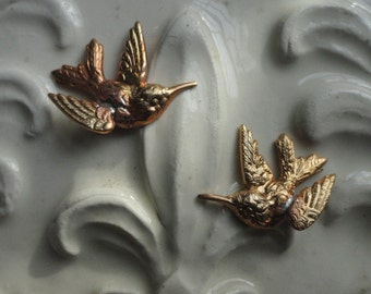 Tiny Hummingbirds (1 pair)