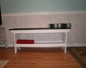 "wooden bench 48"" table / recycled wood"