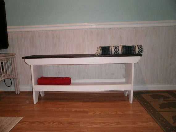 """wooden bench 48"""" table / recycled wood"""