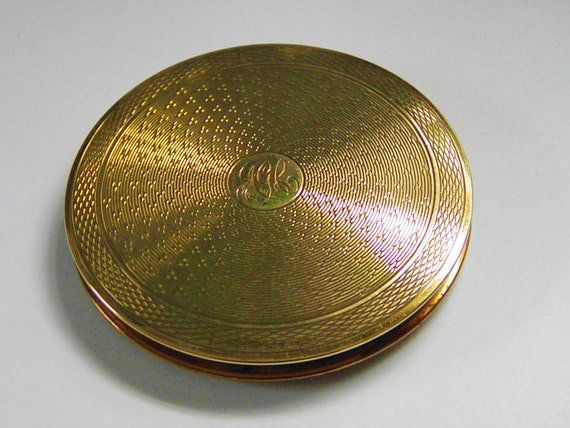 Vintage Stratton Powder Compact 40s