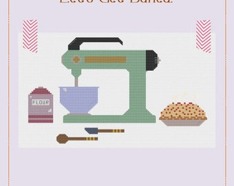Let's Get Baked - A Cross Stitch Pattern by Kaye Prince of Miss Print