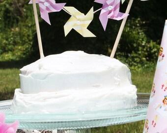 Made To Order Pinwheel Cake Banner