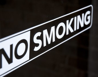 No Smoking - Vinyl Decal