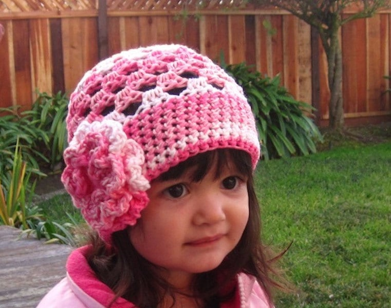 Cute Stuff Beanie Crochet hat pattern PDF Fun and easy to