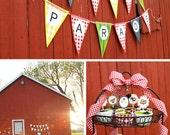 Picnic Parade Party - PRINTABLE FULL COLLECTION - the Creative Orchard