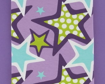 RockSTARS cotton elastane single jersey in lilac 1 m