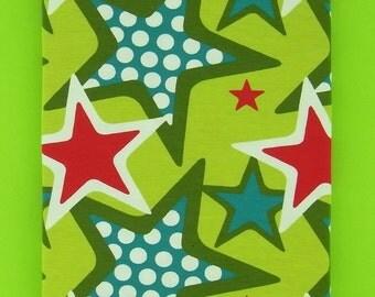 RockSTARS cotton elastane single jersey in lime