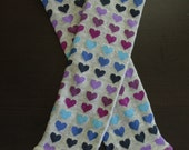 Purple, Blue, and Navy Hearts Baby / Toddler Leggings