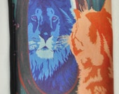 Cat Cosmetic Bag by Salvador Kitti - Great Gift or a Cat Lover - From My Original Painting, Salvador Refleftion