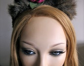 Thicket Fawn Fur  and Horned headband