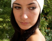 Turban Twist HeadBand-White
