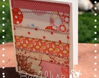 Fabric Notecards (set of 6)