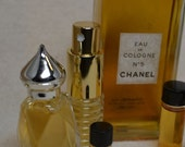 Vintage CHANEL No 5 Eau de Cologne Chanel Perfume Fresh Decant Your Choice of Size and Bottle Floral Classic Woody Animalic