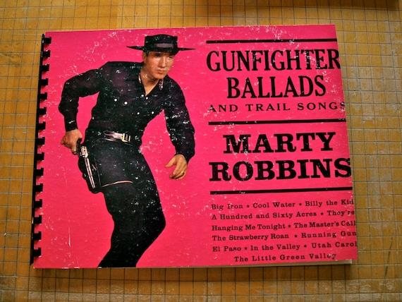 Gunfighter Ballads Repurposed Vintage Record Album Blank Book Journal