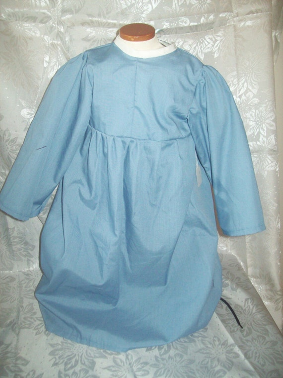 Toddler/Child chemise Custom Size and Color: Made to Order