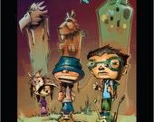 Totem Kids -full color childrens comic