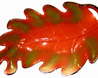 California Pottery Leaf Dish / Ashtray