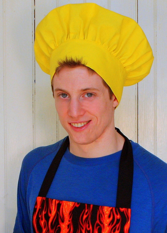 Chef Hat in Yellow