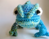 Amigurumi Pascal the Chameleon from Tangled - HANDMADE TO ORDER