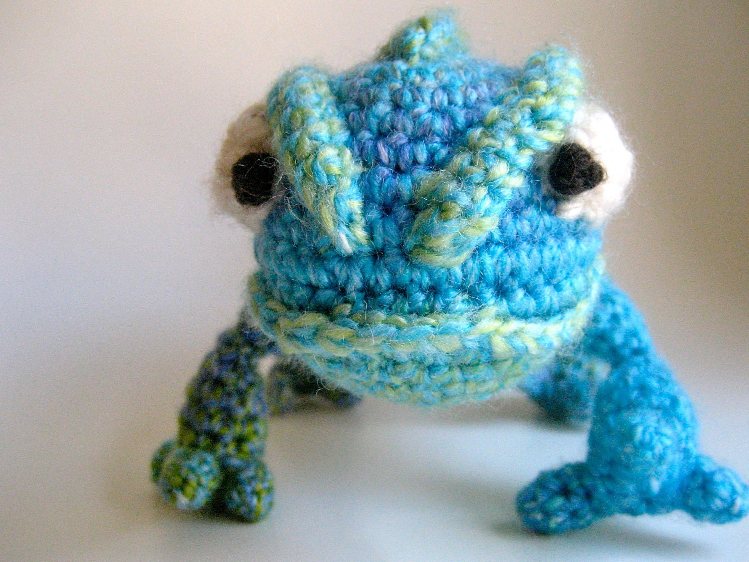 Amigurumi Chameleon : Amigurumi Pascal the Chameleon from Tangled by BelleAmiCrochet
