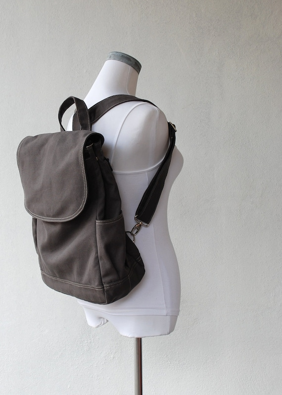Fortuner Backpack in Dark Grey (Water Resistant) Laptop / Shoulder Bag/ Diaper Bag/ Satchel / Rucksack / Messenger Bag / Tote / School Bag