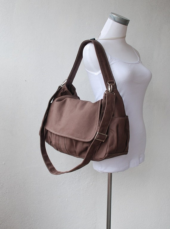Pico, Cinnamon, School Bag, Shoulder Bag, Messenger Bag, Diaper Bag, Women, Canvas School bag, crossbody bag, Handbag, Gift for Her