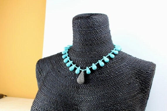 Turquoise Necklace, Turquoise, Sterling Pendant, Turquoise Earrings, Sterling Silver, yoga jewelry, yoga inspired jewelry