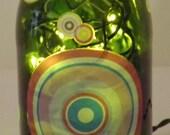 SALE------Champagne Bottle Retro Bar/Table Accent Lamp-SUPER NICE
