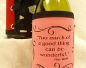 Whimsical Wraps for bottles, candles, vases, jars, etc.