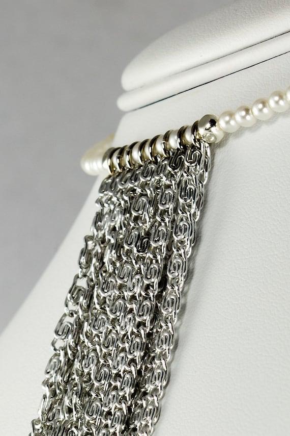Pearl and Chain Choker