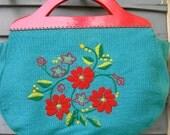 Vintage Purse/Handbag/Sewing Bag