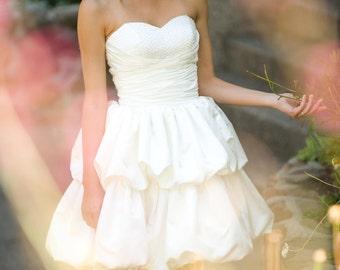 Madison - Short  Wedding Dress, reception dress