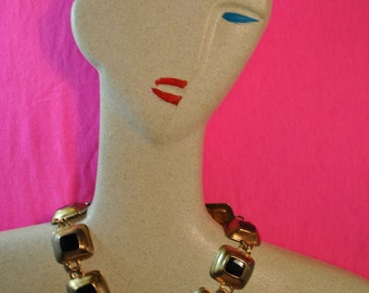 More is more 1980s Statement Necklace.