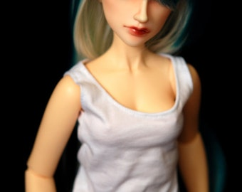 SD Clothes White Singlet For BJD Delf Feeple 60